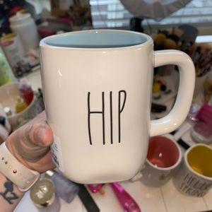NEW Rae Dunn blue Hip Hop Easter mug